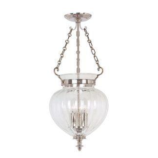 Lampa wisząca Amfora - polerowany nikiel