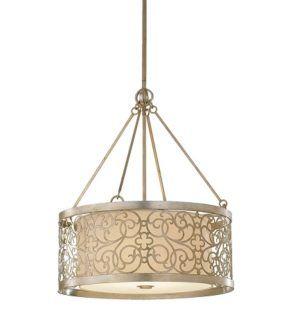 Dekoracyjna lampa wisząca Motif srebrna