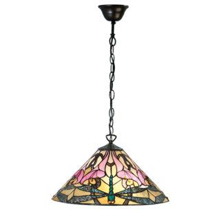 Lampa wisząca Ashton - Interiors - kolorowe szkło