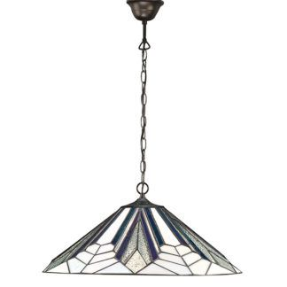 Lampa wisząca Astoria - Interiors - duża - szklana