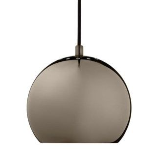 Lampa wisząca Ball - frandsen Lighting - kula - czarny chrom
