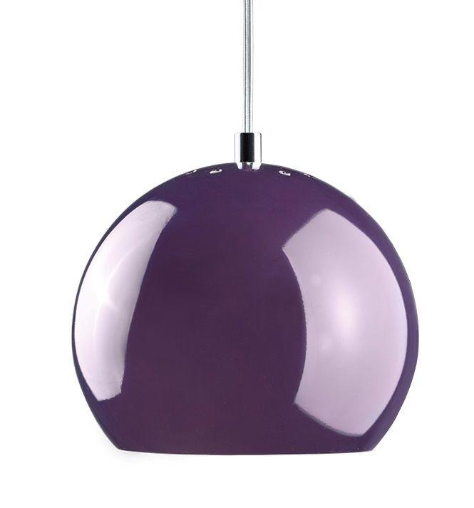 Lampa wisząca Ball - Frandsen Lighting - fioletowa - połysk