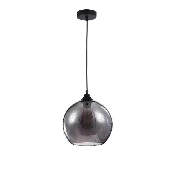 Lampa wisząca Bergen - Maytoni - dymione szkło - kula