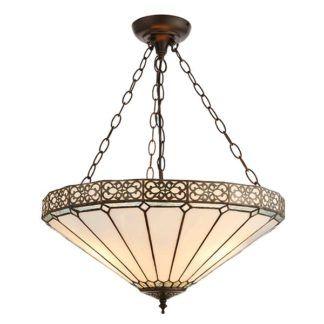 Lampa wisząca Boleyn - Interiors - 3 żarówki - duża