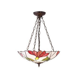 Lampa wisząca Botanica - Interiors - witrażowe szkło