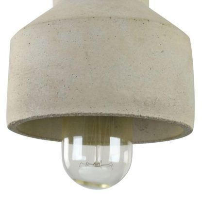 lampa betonowa ceramiczna wisząca