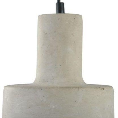 betonowa lampa wąska u góry i szeroka u dolu