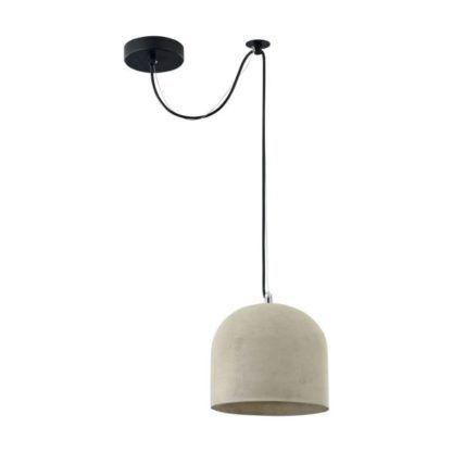 Lampa wisząca Broni 200 - Maytoni - cement