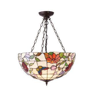 Lampa wisząca Butterfly - Interiors - 3 żarówki - duża