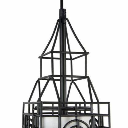 Lampa wisząca City - Maytoni - Londyn - druciana, czarna
