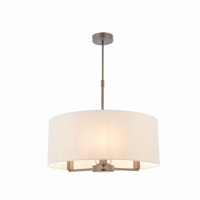 Lampa wisząca Daley - Endon Lighting - ciemny brąz