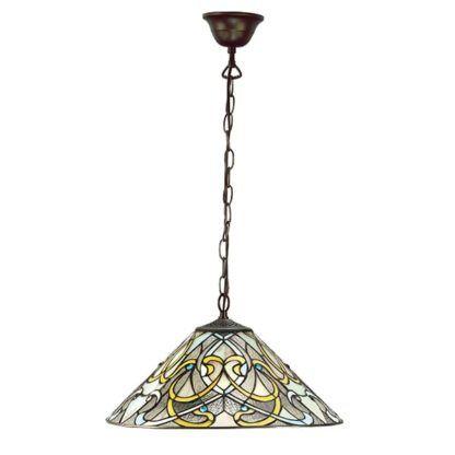Lampa wisząca Dauphine - Interiors - witrażowe szkło