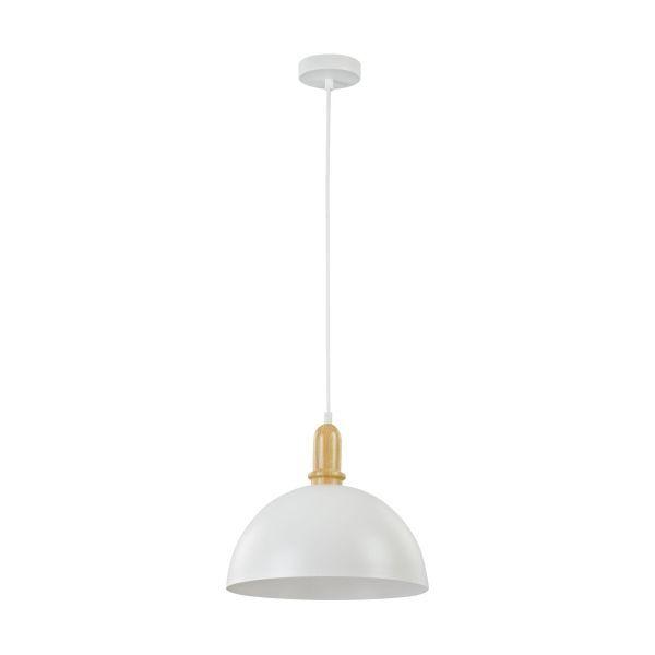 wisząca lampa biała nad stół