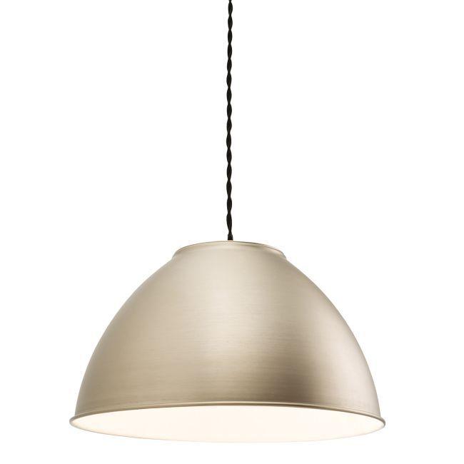Lampa wisząca Dench - Endon Lighting - metalowy klosz