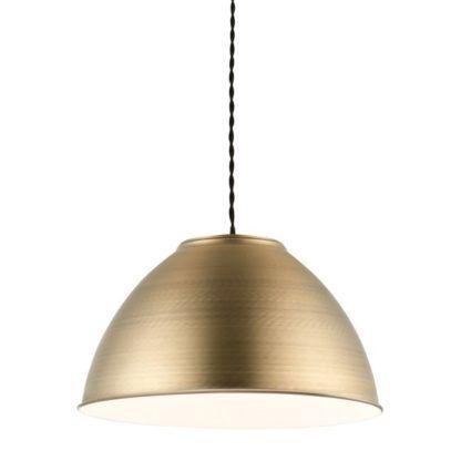 Lampa wisząca Dench - Endon Lighting - mosiądz, mat