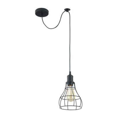 Lampa wisząca Denver 04 - Maytoni - czarne pręty