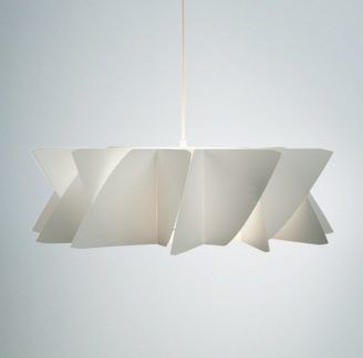 Biała lampa wisząca Diamond - Norla Design