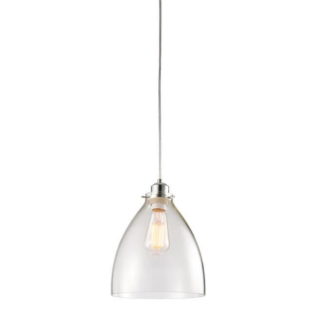 Lampa wisząca Elstow - Endon Lighting - szklana