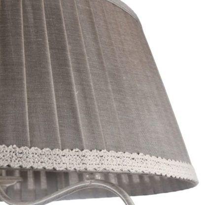 tkanina na abażur z falbanką