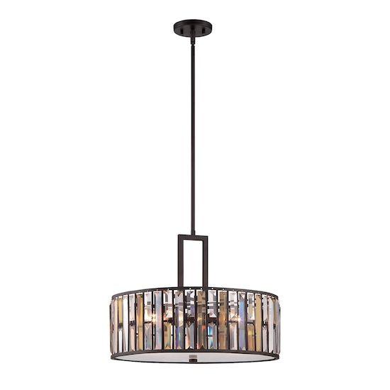 Lampa wisząca Opal z kryształkami