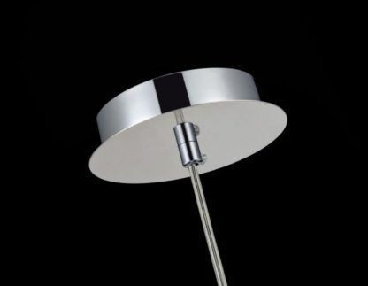 Lampa wisząca Fermi 20 - Maytoni - srebrna, kryształki