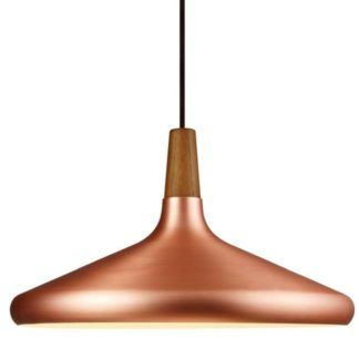 Lampa wisząca Float w stylu scandi - DFTP - Nordlux - miedź