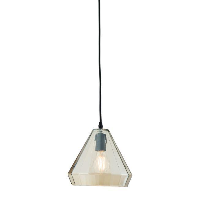Lampa wisząca Gibson - Endon Lighting - szklana