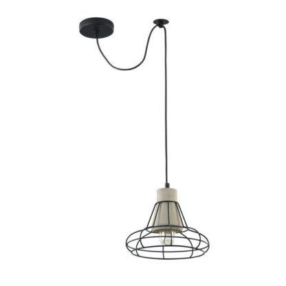 Lampa wisząca Gosford 03 - Maytoni - druciana, cement