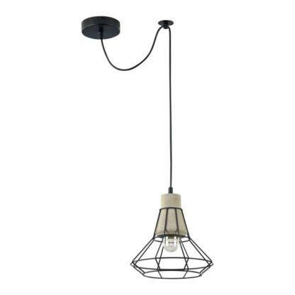 Lampa wisząca Gosford 04 - Maytoni - geometryczny klosz