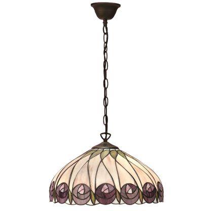 Lampa wisząca Hutchinson - Interiors - witraż