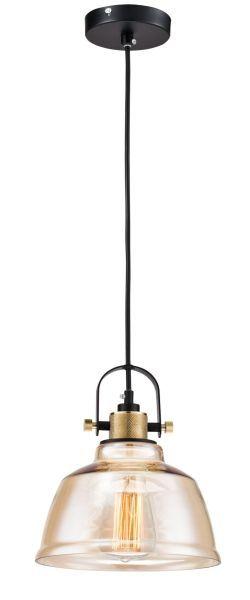 Lampa wisząca Irving - Maytoni - beżowe szkło