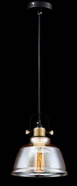 lampa z zadymionym szkłem wisząca edison
