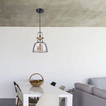 Lampa wisząca Irving - Maytoni - dymione szkło