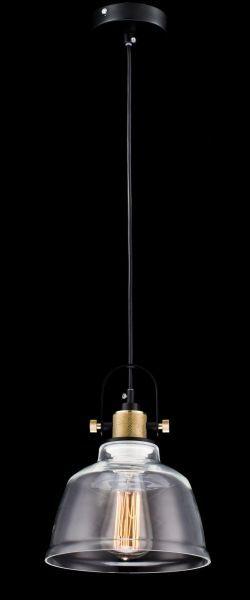 lampa wisząca szklano miedziana skandynawia