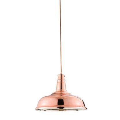 Lampa wisząca Jackman - Endon Lighting - miedź