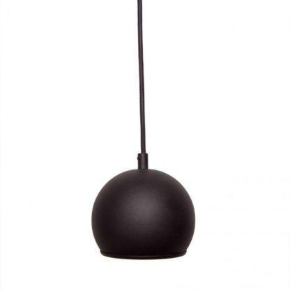 Lampa wisząca Kula - AV-Lighting - metal, czarna