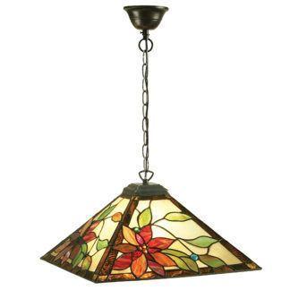Lampa wisząca Lelani - Interiors - szklana