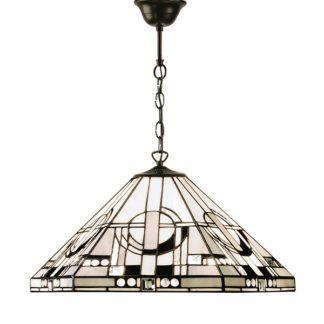 Lampa wisząca Metropolitan - Interiors - szklana, brązowa
