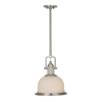 Lampa wisząca Millport - biały klosz