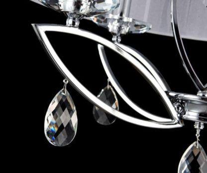 Lampa wisząca Miraggio - Maytoni - 4 żarówki - kryształy