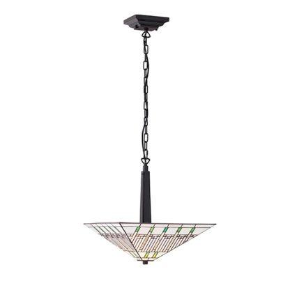 Lampa wisząca Mission - Interiors - biała, szklana