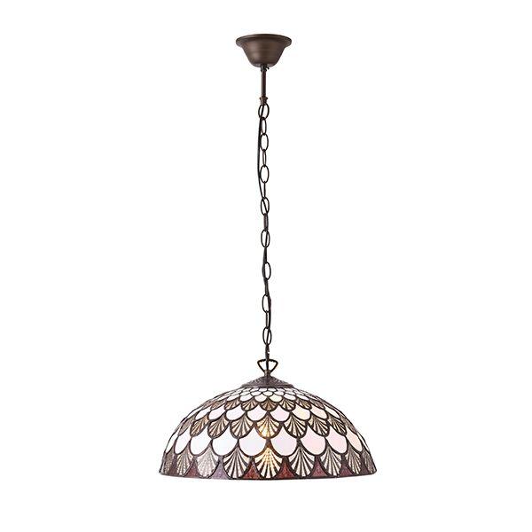 Lampa wisząca Missori - Interiors - witrażowe szkło