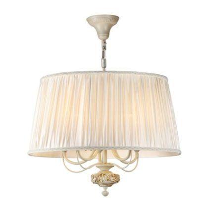 Lampa wisząca Olivia - Maytoni - duża, kremowa
