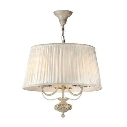 Lampa wisząca Olivia - Maytoni - mała, kremowa
