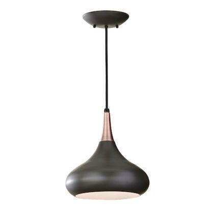 Beso - lampa wisząca retro ciemny brąz