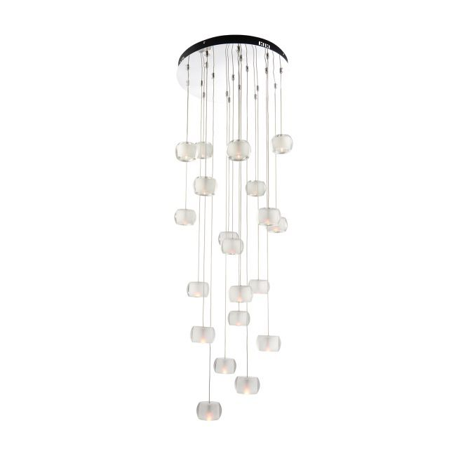 Lampa wisząca Seymour 20 - Endon Lighting - szkło