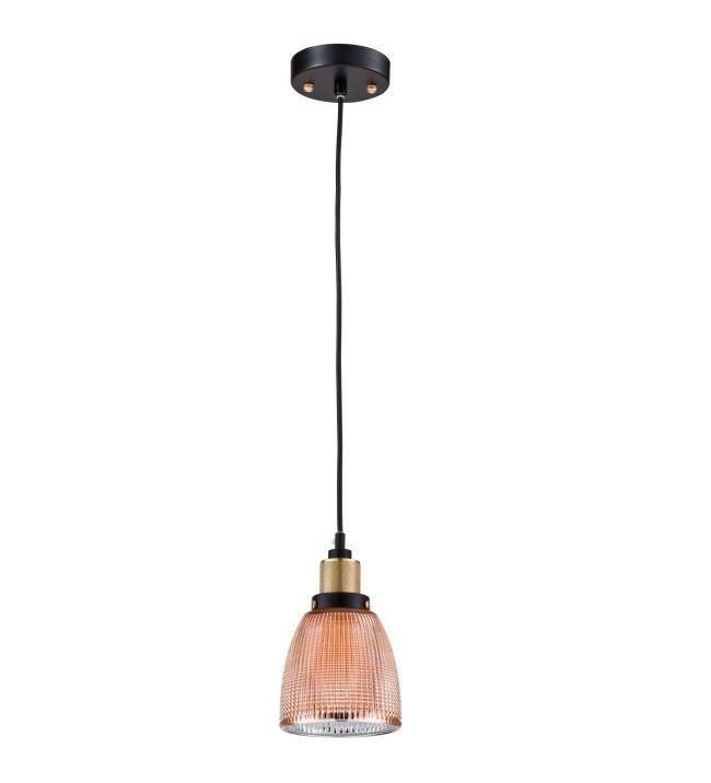 miedziana lampa wisząca