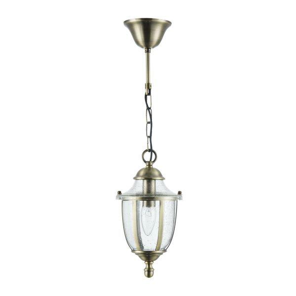 lampa wisząca na taras szklana