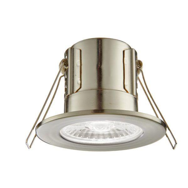 Lampa wpuszczana ShieldECO - Saxby Lighting - nikiel