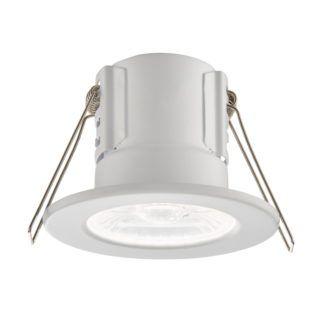 Lampa wpuszczana ShieldECO - Saxby Lighting - biała matowa